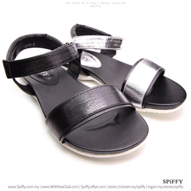 fashion-malaysia-kuala-lumpur-sandal-shoes-%e6%8b%96%e9%9e%8b-spiffy-brand-ct3205-black-silver-colour-shoe-ladies-lady-leather-high-heels-shoes-comfort-wedges-sandal-%e5%a8%83%e5%a8%83%e9%9e%8b