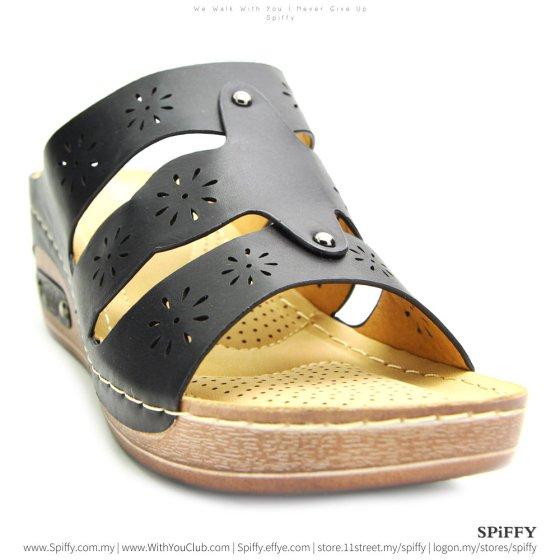 fashion-modern-malaysia-kuala-lumpur-shoes-sandals-%e4%bc%91%e9%97%b2%e9%9e%8b-spiffy-brand-ct3407010-black-colour-shoe-ladies-lady-leather-high-heels-shoes-comfort-wedges-sandal-%e5%a8%83%e5%a8%83