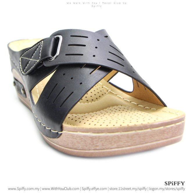 fashion-modern-malaysia-kuala-lumpur-shoes-sandals-%e4%bc%91%e9%97%b2%e9%9e%8b-spiffy-brand-ct3408010-black-colour-shoe-ladies-lady-leather-high-heels-shoes-comfort-wedges-sandal-%e5%a8%83%e5%a8%83