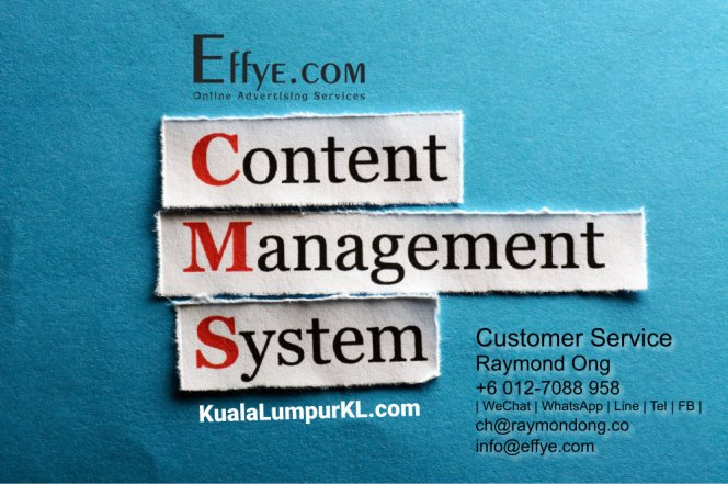 KL Raymond Ong Effye Media Kuala Lumpur Website Design Online Advertising Web Development Education Webpage Facebook eCommerce Management Photo Shooting Malaysia A07