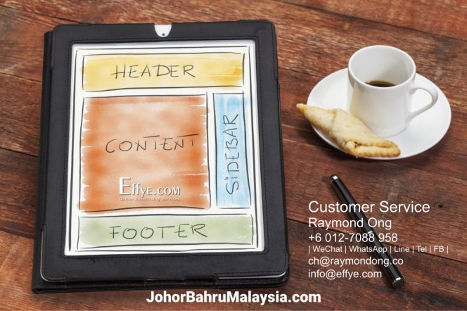 JB Raymond Ong Effye Media Johor Bahru Website Design Online Advertising Web Development Education Webpage Facebook eCommerce Management Photo Shooting Malaysia A06