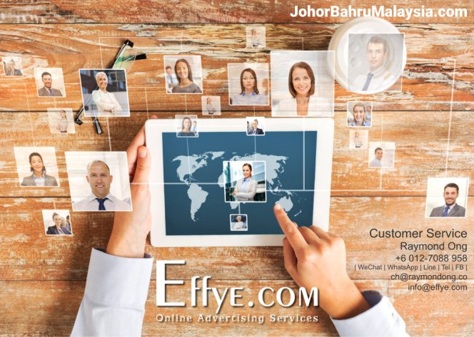 JB Raymond Ong Effye Media Johor Bahru Website Design Online Advertising Web Development Education Webpage Facebook eCommerce Management Photo Shooting Malaysia A08