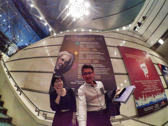Malaysia Kuala Lumpur Malaysian Philharmonic Orchestra Maurice Steger Conductor and Recorder Bach The Brandenburg Concertos II and IV Handel Almira Sammartini Raymond Ong Effye Ang Media