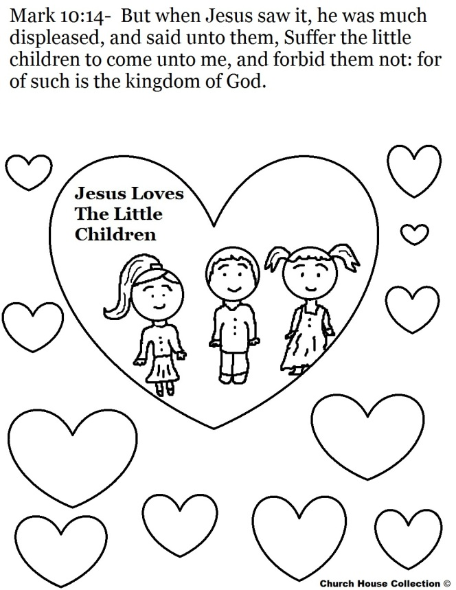 Jesus Christ Coloring Images Sunday School Images for You to Fill with Colour A22