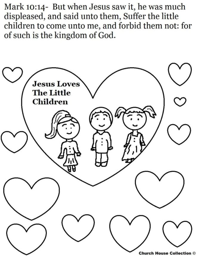 Jesus Christ Coloring Images Sunday School Images for You to Fill with Colour A25