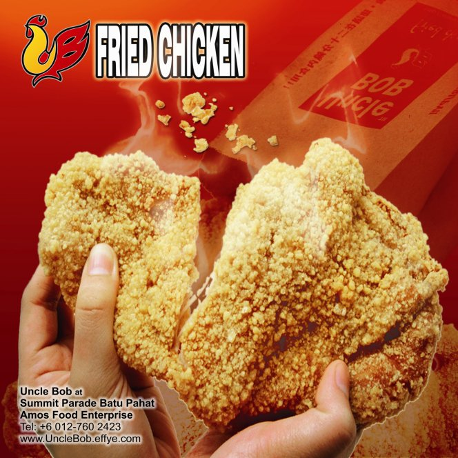 Popcorn Chicken Uncle Bob Fried Chicken Waffle Fast Food Batu Pahat Johor Malaysia Amos Food Enterprise Food and Beverages The Summit Parade Batu Pahat A02