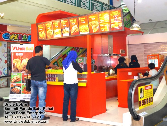 Popcorn Chicken Uncle Bob Fried Chicken Waffle Fast Food Batu Pahat Johor Malaysia Amos Food Enterprise Food and Beverages The Summit Parade Batu Pahat A07