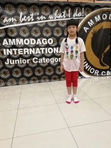 Ammodago International - Junior Category in Malaysia - Master David Goh at Gereja Joy Sogo 苏雅喜乐堂