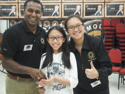 Day 1 of Ammodago International - Junior Category in Malaysia - Master David Goh at Gereja Joy Sogo 苏雅喜乐堂