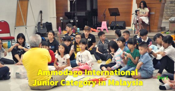 Day 2 of Ammodago International - Junior Category in Malaysia - Master David Goh at Gereja Joy Sogo 苏雅喜乐堂