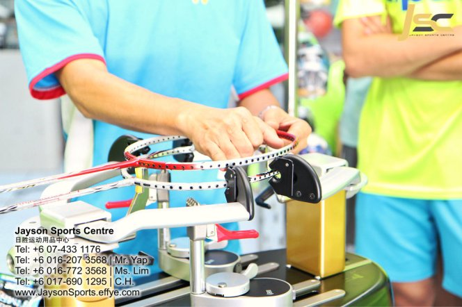 Yonex Protech8 Electric Badminton and tennis Stringing Machines Batu Pahat Jayson Sports Centre Pusat Sukan Batu Pahat 日胜运动用品中心 Batu Pahat Johor Malaysia CA10