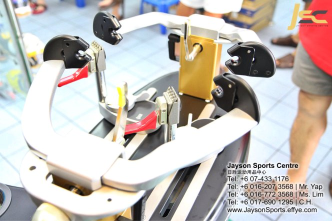 Yonex Protech8 Electric Badminton and tennis Stringing Machines Batu Pahat Jayson Sports Centre Pusat Sukan Batu Pahat 日胜运动用品中心 Batu Pahat Johor Malaysia CA11
