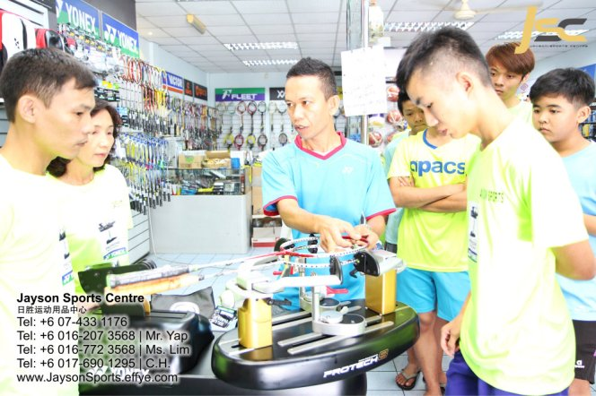 Yonex Protech8 Electric Badminton and tennis Stringing Machines Batu Pahat Jayson Sports Centre Pusat Sukan Batu Pahat 日胜运动用品中心 Batu Pahat Johor Malaysia CA16