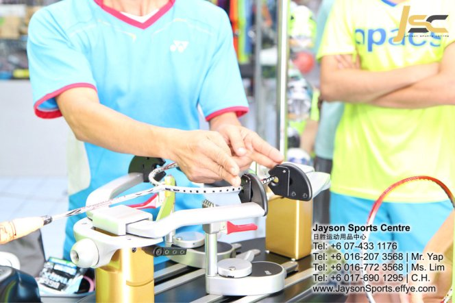Yonex Protech8 Electric Badminton and tennis Stringing Machines Batu Pahat Jayson Sports Centre Pusat Sukan Batu Pahat 日胜运动用品中心 Batu Pahat Johor Malaysia CA06