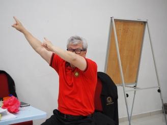 Day 3 of Ammodago International - Junior Category in Malaysia - Master David Goh at Gereja Joy Sogo 苏雅喜乐堂
