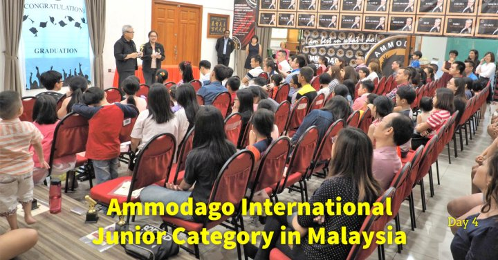 Day 4 of Ammodago International - Junior Category in Malaysia - Master David Goh at Gereja Joy Sogo 苏雅喜乐堂
