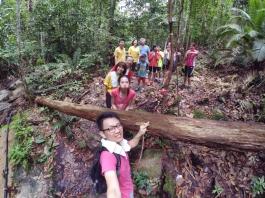 山里的故事 峇株巴辖 龙华山庄 后山 Gunung Puncak Batu Pahat Johor Malaysia Raymond Ong A19