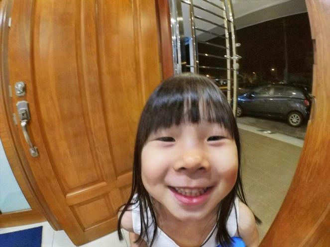 小米 小蚁运动型相机 到了小朋友手上 06