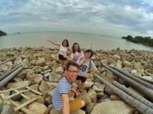 Malaysia Johor Batu Pahat Travel Raymond Ong | Effye Ang | Pinky Ning | Estella Oon - A Trip Around Batu Pahat!
