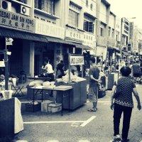 Batu Pahat Culture Street - Johor, Malaysia.