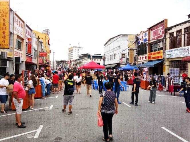 Batu Pahat Culture Street Night Market History Building Event Activity 峇株巴辖文化老街 市集 老街 历史 文化建筑 Johor Malaysia 柔佛 马来西亚 A03