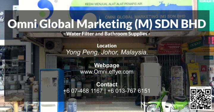 Omni global marketing m sdn bhd water filter and for E bathroom solution sdn bhd