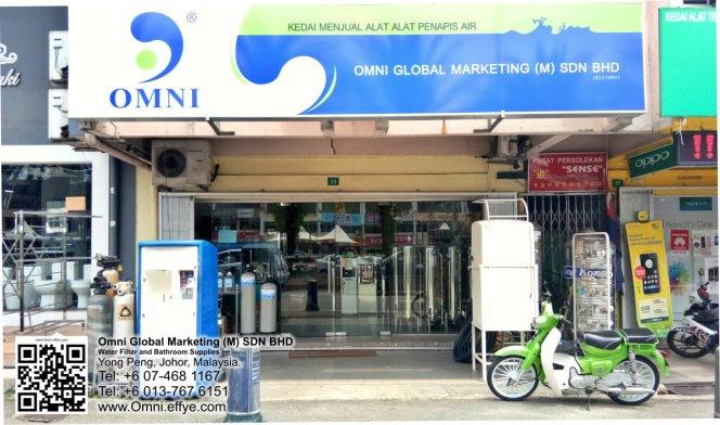 Malaysia Johor Yong Peng Water Filter Penapis Air Bathroom Supplies Omni Global Marketing Malaysia SDN BHD 马来西亚 柔佛 永平 住家食水过滤器 及 浴室用品供应 A01
