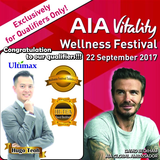 AIA Wellness Festival Qualifiers - Ultimax Hugo Teoh