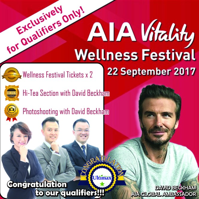 AIA Wellness Festival Qualifiers-- - Ultimax