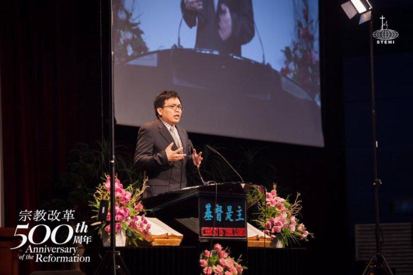 宗教改革500周年讲座 宗教改革与当今世界 唐崇荣牧师 500th Anniversary of the Reformation Reformation and The Modern World Stephen Tong A21