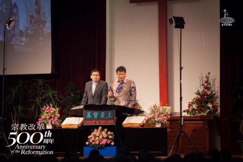 宗教改革500周年讲座 宗教改革与当今世界 唐崇荣牧师 500th Anniversary of the Reformation Reformation and The Modern World Stephen Tong A24