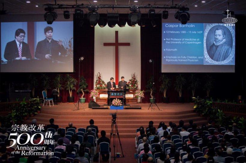 宗教改革500周年讲座 宗教改革与当今世界 唐崇荣牧师 500th Anniversary of the Reformation Reformation and The Modern World Stephen Tong A28