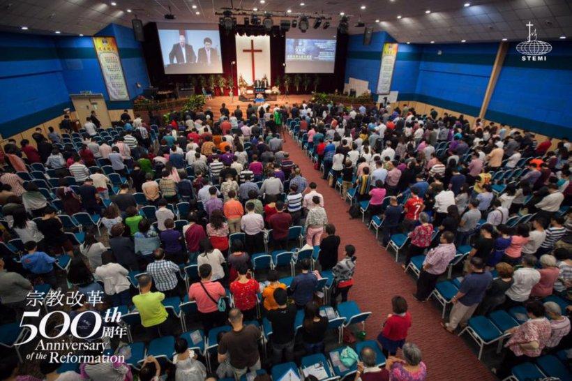 宗教改革500周年讲座 宗教改革与当今世界 唐崇荣牧师 500th Anniversary of the Reformation Reformation and The Modern World Stephen Tong A05