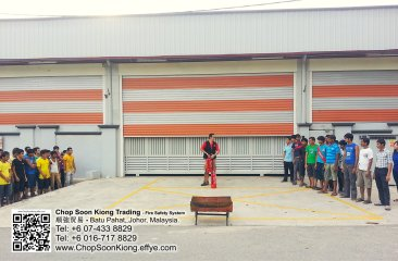 Malaysia Johor Batu Pahat Fire Extinguisher Prevention Equipment Chop Soon Kiong Trading 顺強贸易 Safety Somke Alarm Fire Prevention Protection Fire Hose Reel Bomba 灭火器-B08
