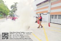 Malaysia Johor Batu Pahat Fire Extinguisher Prevention Equipment Chop Soon Kiong Trading 顺強贸易 Safety Somke Alarm Fire Prevention Protection Fire Hose Reel Bomba 灭火器-B10