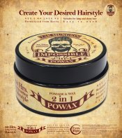 Tak Mungkin PoWax Malaysia Impossible PoWax Malaysia Poster - 48 hours long-lasting hairstyle products JPG A06