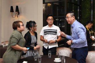 Malaysia Jahor Johor Bahru PIF 汇徳金融 新加坡金融团队 CEO私人午宴 Alfred Law Alfred Genesis Fork and Spoon Western Food Fine Dining C57