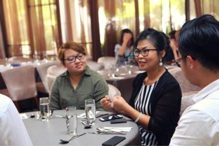 Malaysia Jahor Johor Bahru PIF 汇徳金融 新加坡金融团队 CEO私人午宴 Alfred Law Alfred Genesis Fork and Spoon Western Food Fine Dining B13