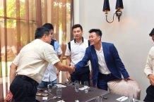 Malaysia Jahor Johor Bahru PIF 汇徳金融 新加坡金融团队 CEO私人午宴 Alfred Law Alfred Genesis Fork and Spoon Western Food Fine Dining B20
