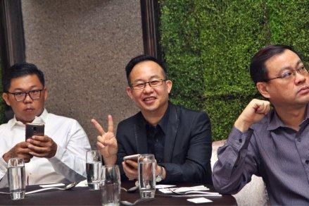 Malaysia Jahor Johor Bahru PIF 汇徳金融 新加坡金融团队 CEO私人午宴 Alfred Law Alfred Genesis Fork and Spoon Western Food Fine Dining B22