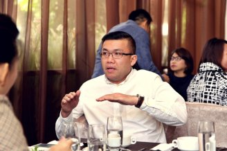 Malaysia Jahor Johor Bahru PIF 汇徳金融 新加坡金融团队 CEO私人午宴 Alfred Law Alfred Genesis Fork and Spoon Western Food Fine Dining B29