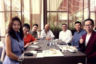 Malaysia Jahor Johor Bahru PIF 汇徳金融 新加坡金融团队 CEO私人午宴 Alfred Law Alfred Genesis Fork and Spoon Western Food Fine Dining B33