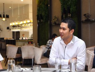 Malaysia Jahor Johor Bahru PIF 汇徳金融 新加坡金融团队 CEO私人午宴 Alfred Law Alfred Genesis Fork and Spoon Western Food Fine Dining C04