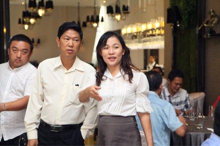Malaysia Jahor Johor Bahru PIF 汇徳金融 新加坡金融团队 CEO私人午宴 Alfred Law Alfred Genesis Fork and Spoon Western Food Fine Dining C07