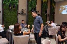 Malaysia Jahor Johor Bahru PIF 汇徳金融 新加坡金融团队 CEO私人午宴 Alfred Law Alfred Genesis Fork and Spoon Western Food Fine Dining C21