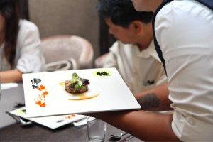Malaysia Jahor Johor Bahru PIF 汇徳金融 新加坡金融团队 CEO私人午宴 Alfred Law Alfred Genesis Fork and Spoon Western Food Fine Dining C30