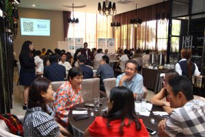 Malaysia Jahor Johor Bahru PIF 汇徳金融 新加坡金融团队 CEO私人午宴 Alfred Law Alfred Genesis Fork and Spoon Western Food Fine Dining C32