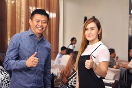 Malaysia Jahor Johor Bahru PIF 汇徳金融 新加坡金融团队 CEO私人午宴 Alfred Law Alfred Genesis Fork and Spoon Western Food Fine Dining C37