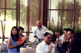 Malaysia Jahor Johor Bahru PIF 汇徳金融 新加坡金融团队 CEO私人午宴 Alfred Law Alfred Genesis Fork and Spoon Western Food Fine Dining C39