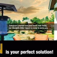 MN Voltron - Pembunuh Nyamuk Berkuasa Solar Untuk pembinaan